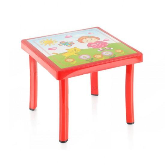 Holiday CM305 Desenli Çocuk Çalışma Masası 50x50 cm   ID0067