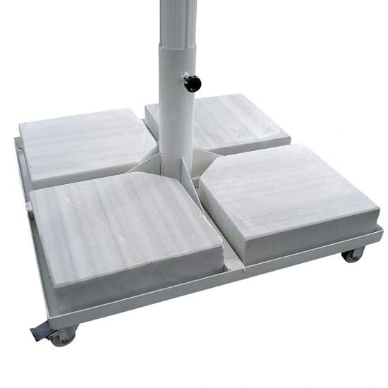 Türkler 340 Polyester Krank Sistemli Şemsiye Tente Büyük 4mx4m  | ID0122