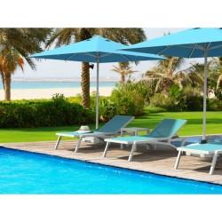 Türkler 310 Polyester Bahçe, Havuz, Plaj Şemsiyesi 250x250 / 8 Kare | ID0115