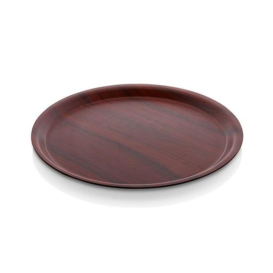 Kraft Lamine Kaydırmaz Yuvarlak Servis Tepsisi Ø33cm | ID1476