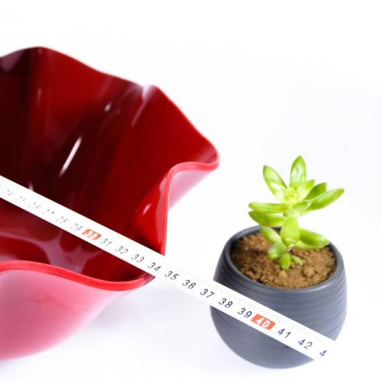 Göreme 564 Termostar Kırılmaz Melamin Flower Bowl Salata Sunum Kasesi 34cm | ID1379