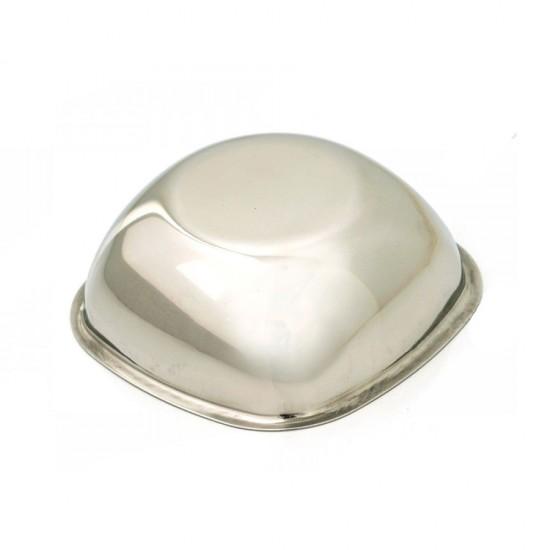 Abant 304 Paslanmaz Çelik Kare Kase 12 cm | ID0437