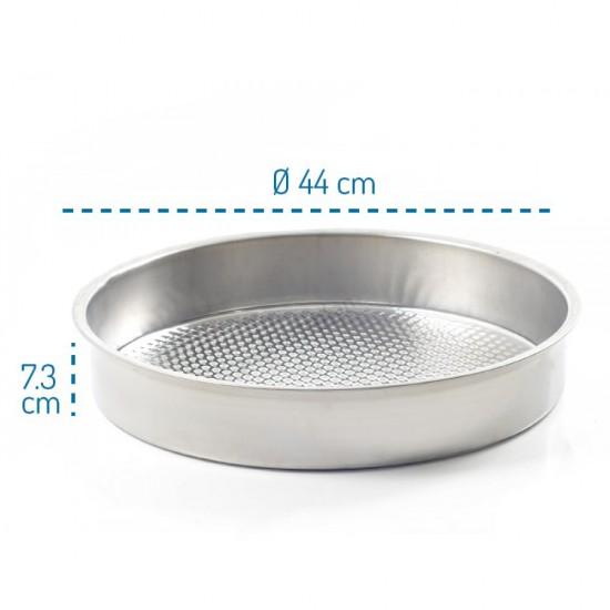 Abant Çelik Çiğ Köfte Tepsisi 44 cm No:3 | ID0317