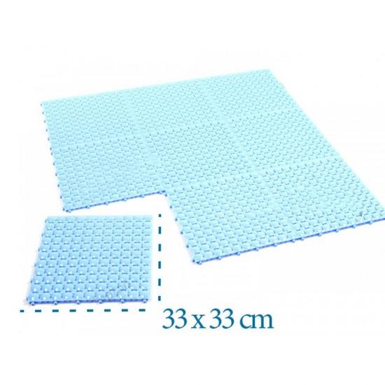 Plastik Yer Karosu Ortopedik 1212 33x33cm Yer Izgarası   ID0131